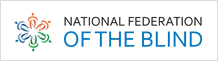 National federation of blind  로고